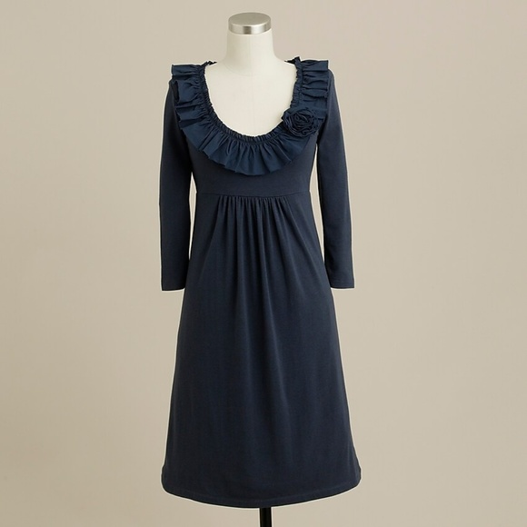 J. Crew Dresses & Skirts - J. Crew Ruffle Rose Dress